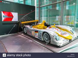 audi museum at the exposition of audi museum stock photo royalty free image