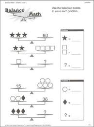 solving two step equations with balancing scales worksheet