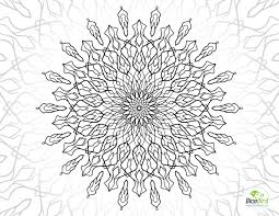 magic flower free printable coloring pages for adults only