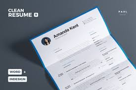 Best Resume Templates For Pages by 30 Best Clean Cv Resume Templates Designazure Com