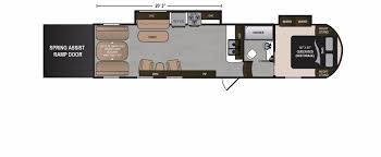 2 Bedroom Travel Trailer Floor Plans Voltage Rv Floorplans And Pictures