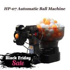 black friday ping pong table deals hp 07 ping pong table tennis robots automatic ball machine for