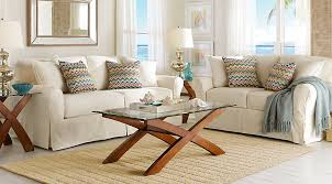 Rooms To Go Living Room Furniture by Cindy Crawford Home Beachside Natural 8 Pc Living Room Living