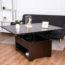 coffee table with hidden gun storage plans 3 in 1 lift top coffee table w hidden storage compartment 3 in 1