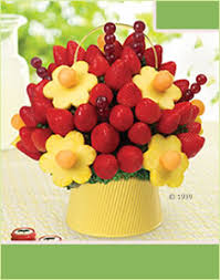 edible arrang i would much rather get an edible arrangement like this or a