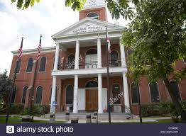old monroe county court house key west florida usa stock photo