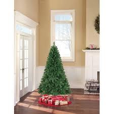 unlit artificial christmas trees time unlit 6 5 jackson spruce green artificial christmas
