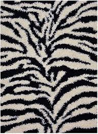 Black And White Zebra Area Rug Zebra Area Rugs Shop