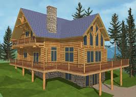 4100 sq ft classic log lodge design coast mountain log homes log home plans