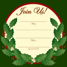 free printable christmas and new year party invitations party