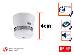 design feuermelder mini design rauchmelder mit 10 jahres batterie setpoint de