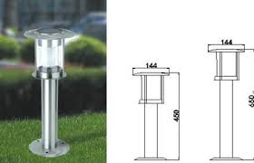 Solar Light Bollards - bollard lighting selecting the top driveway lights for your