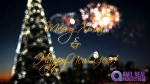 chagne fireworks merry happy new year greetings