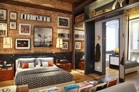 bedroom home apartment cozy bedroom exposed brick bedroom design