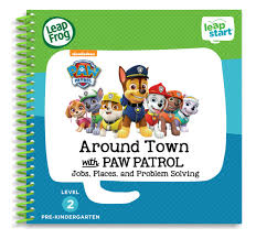 Leapfrog Interactive United States Map by Leapstart Around Town With Paw Patrol Leapfrog