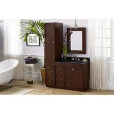 36 Bathroom Vanity With Drawers by Ronbow 081936 3l Shaker 36 Vanity Cabinet With 2 Wood Doors 3
