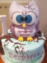 owl birthday cakes lilic owl birthday cake cake by zoe robinson cakesdecor