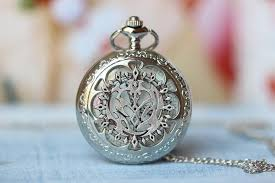 pandora hearts necklace images Pandora hearts pocket watch necklace contractor inspired vintage jpg