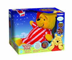 winnie pooh cuddle u0026 glow pooh tomy amazon uk baby