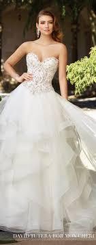 wedding dress trend 2018 wedding dress trends 2017 ruffled skirts the magazine