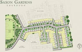 Redrow Oxford Floor Plan Interactive Site Map Saxon Gardens Redrow