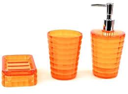orange bathroom accessories bhs sets also pink contemporary