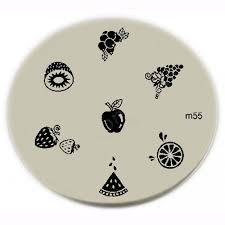 konad stamping nail art konad stamping nail art image plate m55