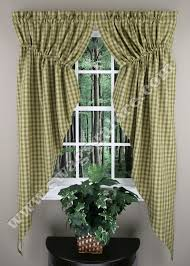 How To Hang Curtain Swags by Sturbridge Gathered Swag Green Park Designs Kitchen Valances