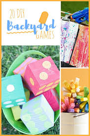 with these fun and easy to make 20 diy backyard games your family