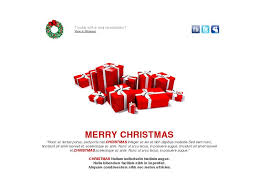 email template merry christmas greeting happy holiday rod free