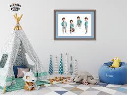 kids fashion photography wall art for boy u0027s playroom big bash photo