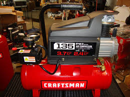 sears best craftsman air compressor 1hp 12 gallon asme tank 100psi