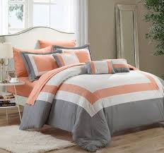 bedroom white and gold bedding light gray comforter black and