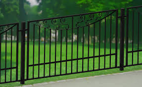outdoor a railings single collar spoon alternating double scroll