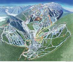 Colorado Ski Map by Sun Peaks Ski Resort Map Canada Pinterest Resorts Ski