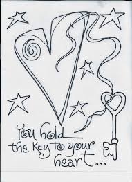 the creative playground the key coloring book page