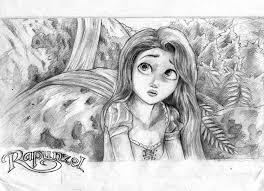tangled rapunzel drawing by veeboy2 on deviantart