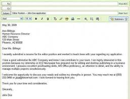 Human Resources Job Description For Resume by Email Resume To Hr