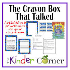 the crayon box that talked unit the kinder corner