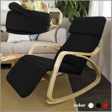 Most Comfortable Chair For Reading by Amazon Com Haotian Comfortable Relax Rocking Chair With Foot Rest