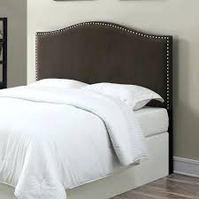 Diy Pillow Headboard Interior Fabric Headboard King Diy Headboards With Nailheads
