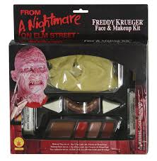 halloween prosthetic makeup kits amazon com a nightmare on elm street freddy krueger makeup kit