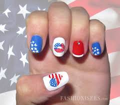 fourth of july nail art designs fashionisers