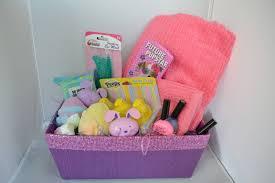 spa basket ideas candy spa theme easter basket ideas