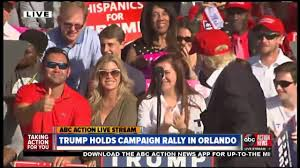 central florida fair orlando fl live donald trump holds campaign rally in orlando youtube
