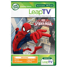 amazon com leapfrog leaptv ultimate spider man educational