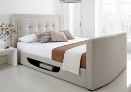 Bed Frame With Tv In Footboard Tv Beds King Size Beds With Tv Time4sleep