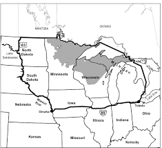 Upper Michigan Map by International Wolf Center Blog Archive Michigan