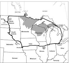 Upper Peninsula Map International Wolf Center Blog Archive Michigan