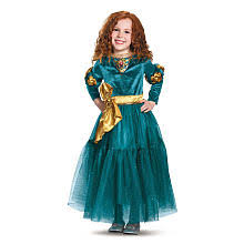 4t Halloween Costumes U0027s Merida Deluxe Halloween Costume Toddler Size 3t 4t